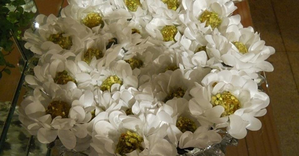 Imagem de forminha para doces da Flores em Forminhas