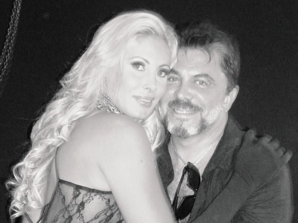 A modelo Ângela Bismarqui e o marido, o cirurgião Wagner de Moraes