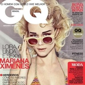Capa da edição de outubro da revista