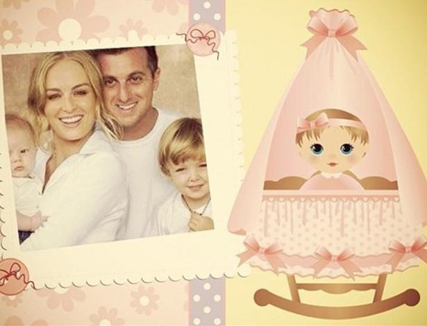 Claudia Leitte parabenizou o nascimento de Eva, filha de Angélica e Luciano Huck, por meio de sua página do Twitter (26/9/12)