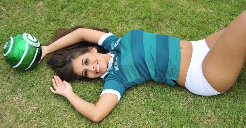 Hélika Rios, a bela do Goiás