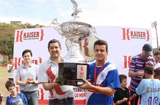 O Roma perdeu a final para o Inconfidência e ficou com a segunda colocação da Copa Kaiser 2012 de Belo Horizonte