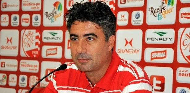 Técnico Alexandre Gallo do Náutico em entrevista coletiva (25/09/2012)