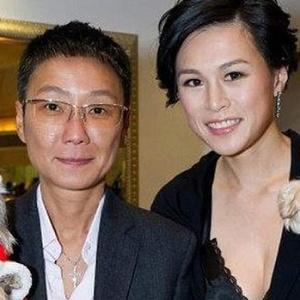 Gigi Chao (dir.) teria se casado com sua namorada há sete anos, Sean Eav (esq.)