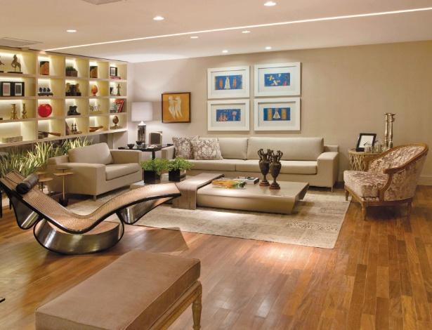 Os arquitetos Hélio Albuquerque e Sonia Peres assinam o Living, com 90 m², da Casa Cor Brasília