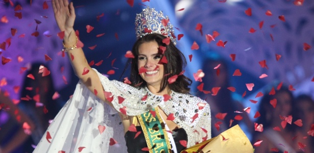 A nova Miss Brasil, a gaúcha Gabriela Markus, 23