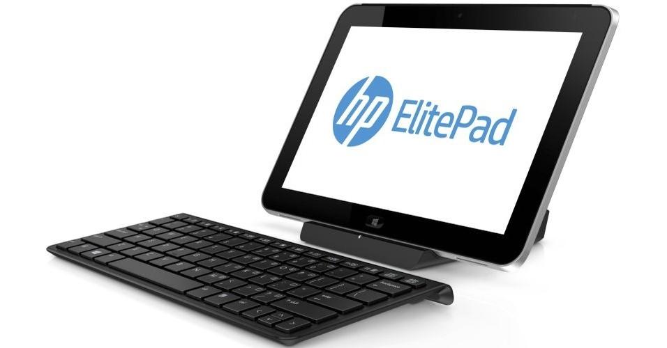 A HP divulgou um tablet voltado ao mundo corporativo, o HP ElitePad 900. O equipamento chega ao mercado brasileiro no começo do ano que vem com tela de 10.1 polegadas, 9,2 mm de espessura, 690 gramas e Windows 8. O hardware responsável por fazer o sistema funcionar é composto por um processador Intel Atom dual-core de 1.8 GHz e 2 GB de RAM. O aparelho possui versões de 32 GB e 64 GB. O preço ainda não foi definido