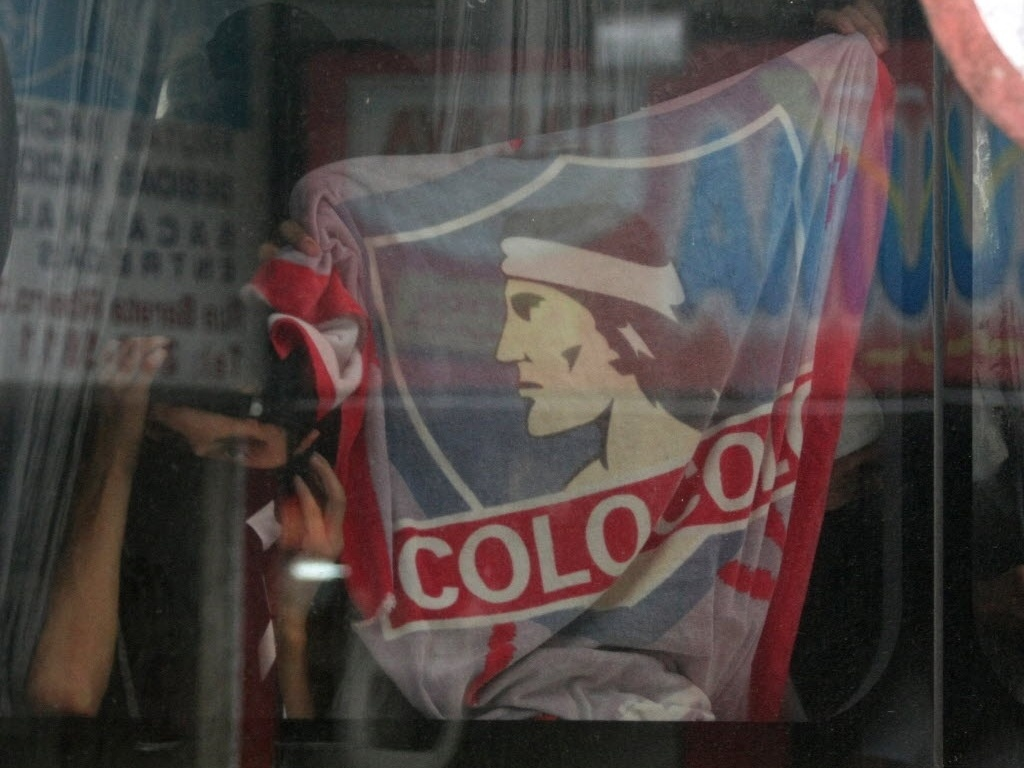 Barra bravas do Colo Colo foram presos no Rio, em 2010