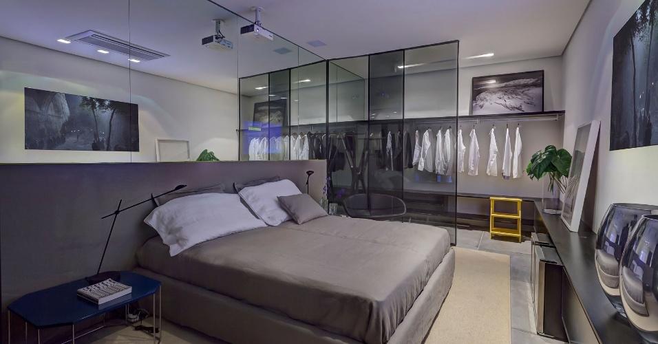 Júnior Piacesi homenageira Piet Mondrian em seu Home do Empresário. No espaço, a iluminação e a automação dão versatilidade e diferenciação para as diferentes