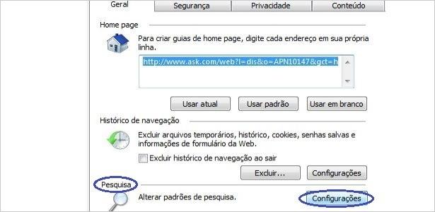 do leitor: como remover a barra Ask Search do Internet Explorer