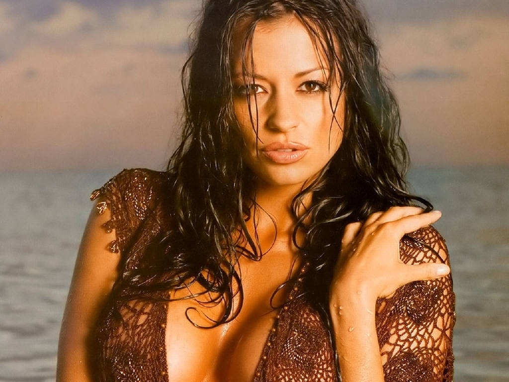 Candice Michelle  uma das maiores estrelas da luta livre