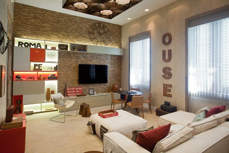 O Hostel Boutique, criado por Patrícia Fiúza, é baseado em cores neutras, como off white, cinza e fendi, que contrastam com tons mais fortes como o vermelho coral. A Casa Cor RJ vai de 03 de outubro a 19 de novembro de 2012, no Rio de Janeiro