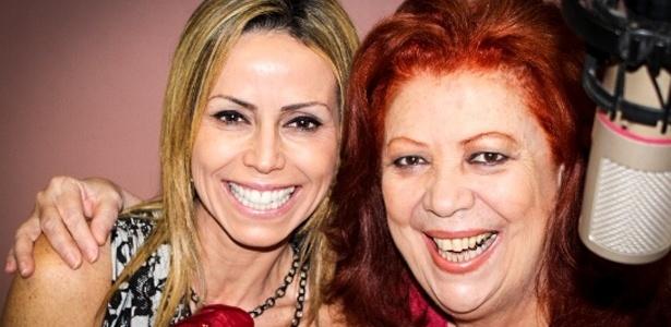 Internada, Beth Carvalho grava participação no CD de sua sobrinha, Luciana Carvalho, em um estúdio móvel montado no hospital (30/9/12)