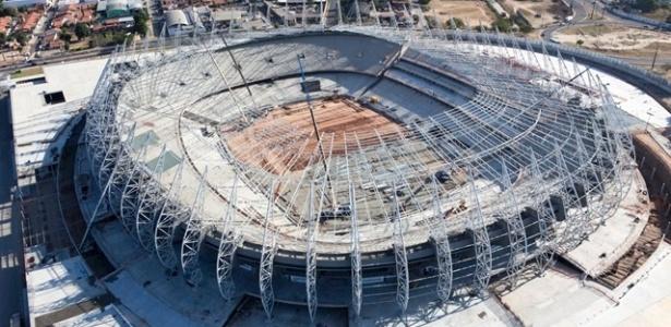 Castelão, em Fortaleza, é um dos estádios da Copa das Confederações