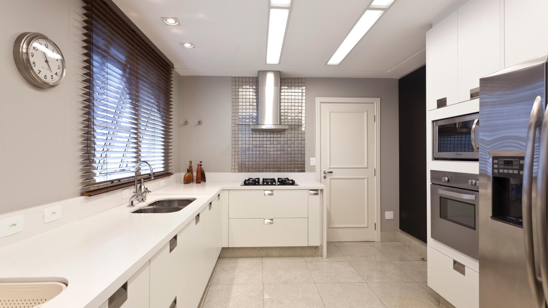 Cozinha Ilha Central Vista Bancada Refei O Geladeira HD Walls Find  #3C558F 1920x1080