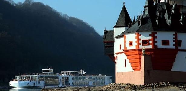 Navio Odin, uma das novas embarcações da companhia Viking River Cruises
