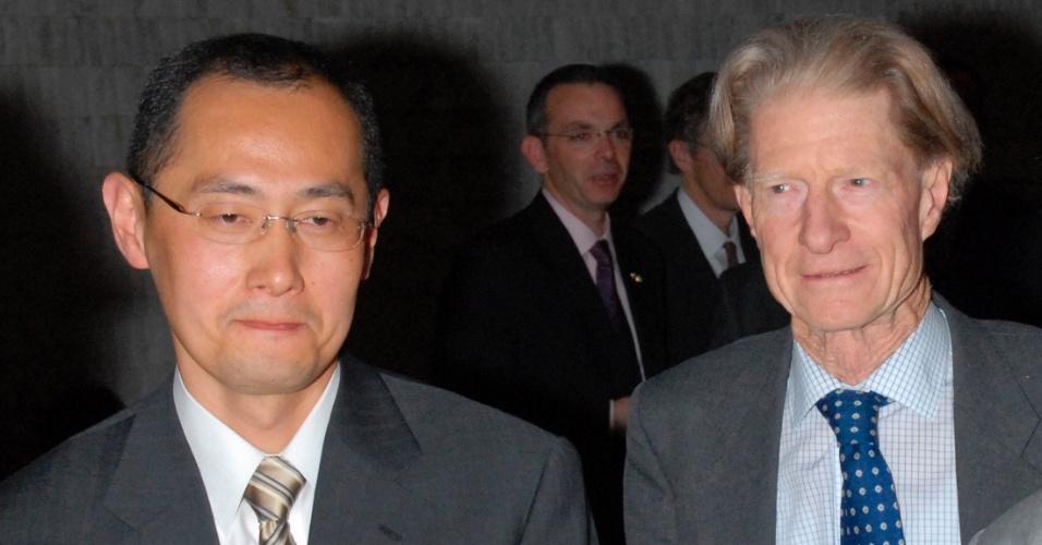08.out.2012 - O japonês Shinya Yamanaka e o britânico John Gurdon foram agraciados com o Nobel de Medicina 2012 por seus trabalhos que revolucionaram o entendimento de como as células e os organismos se desenvolvem, anunciou a organização nesta segunda-feira