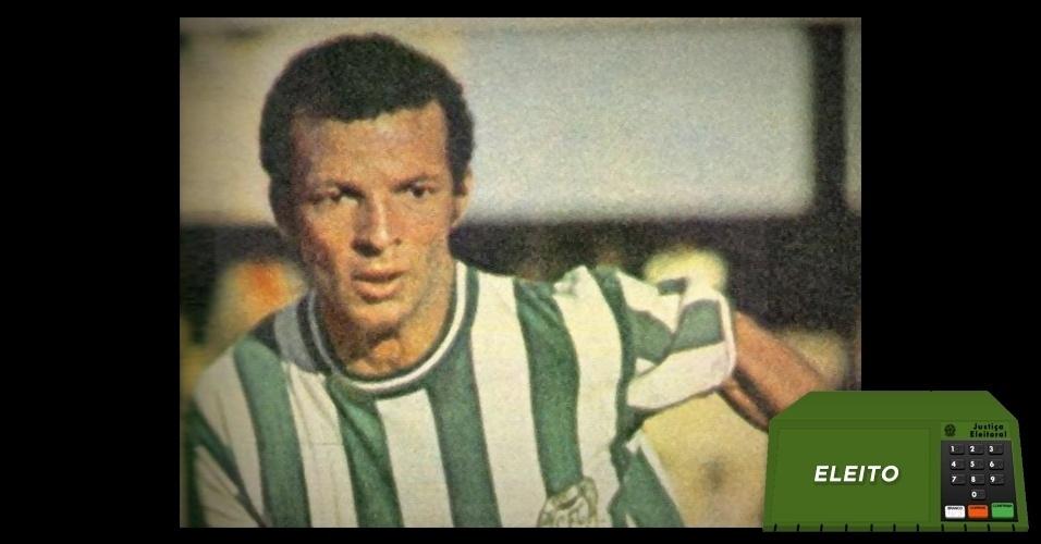 Ex-jogador do Coritiba, Aladim Luciano foi eleito vereador na capital paranaense pelo Partido Verde