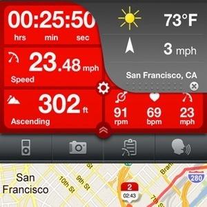 Apps para uso com bicicletas