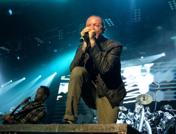 Linkin Park se apresenta no Citibank Hall, no Rio (8/10/12)