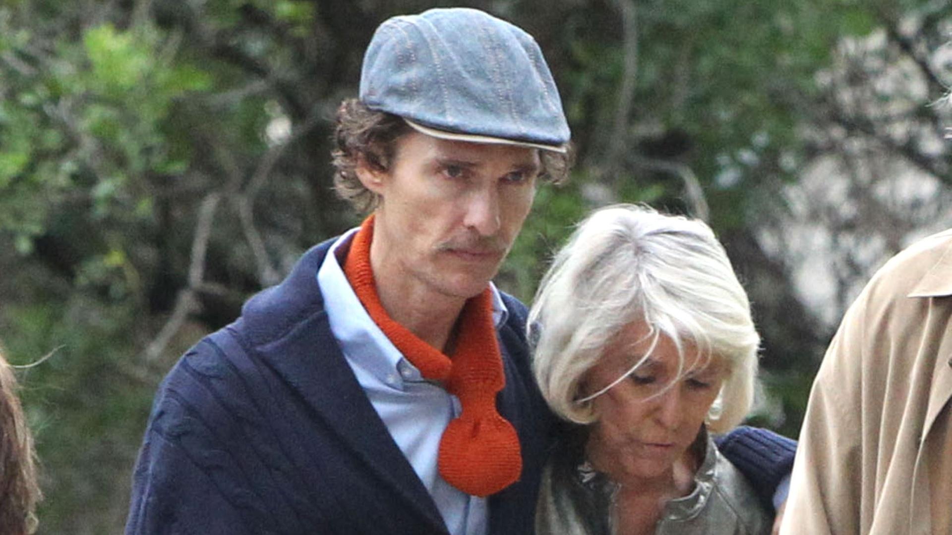 Matthew McConaughey perde peso para atuar em filme (7/10/12)