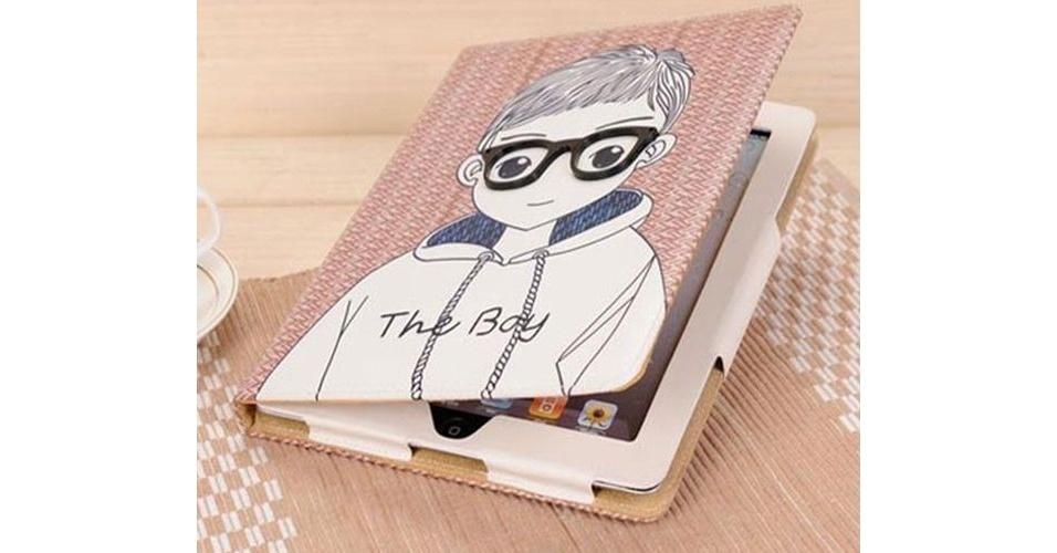"""A capa """"The Boy"""" da um toque de delicadeza e proteção ao iPad por R$ 139 na loja iGeek"""