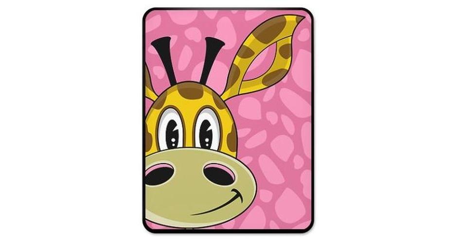 Capa com estampa de girafa por U$ 39,5 (cerca de R$ 80) na loja Cafe Press
