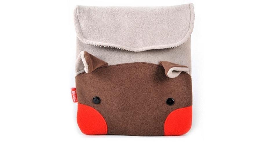 Capa para iPad com relevo de pelúcia por US$ 38 (cerca de R$ 76) na loja Curious Catch