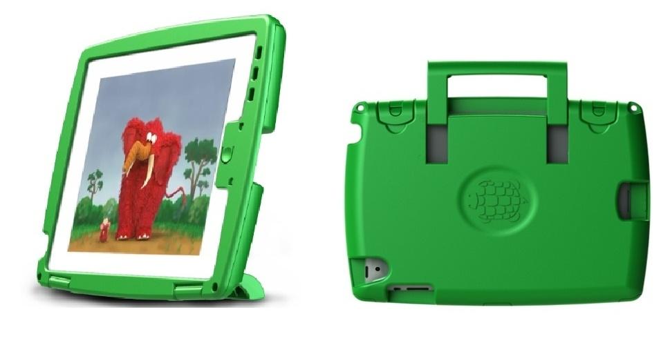 Capa protetora para iPad 2 e 3 por US$ 74,95 (cerca de R$ 150) na loja TRTLBOT