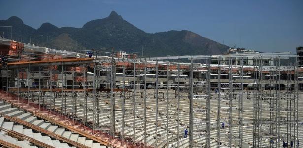 Com 70% dos trabalhos concluídos, o Maracanã começará a receber a estrutura da cobertura este mês