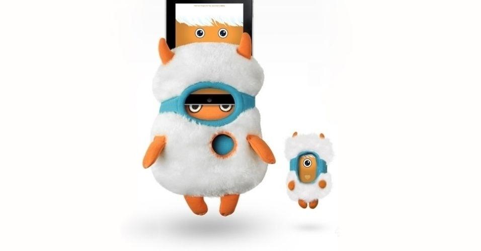 Da fabricante Toyota Creatures, a capa para iPad Yet Yet transforma o gadget em um monstrinho. Por US$ 80 (cerca de R$ 160) na loja da marca