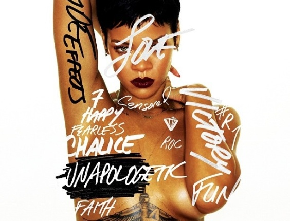 Capa do novo disco da cantora Rihanna, 