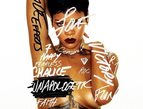 Capa do novo disco da cantora Rihanna,
