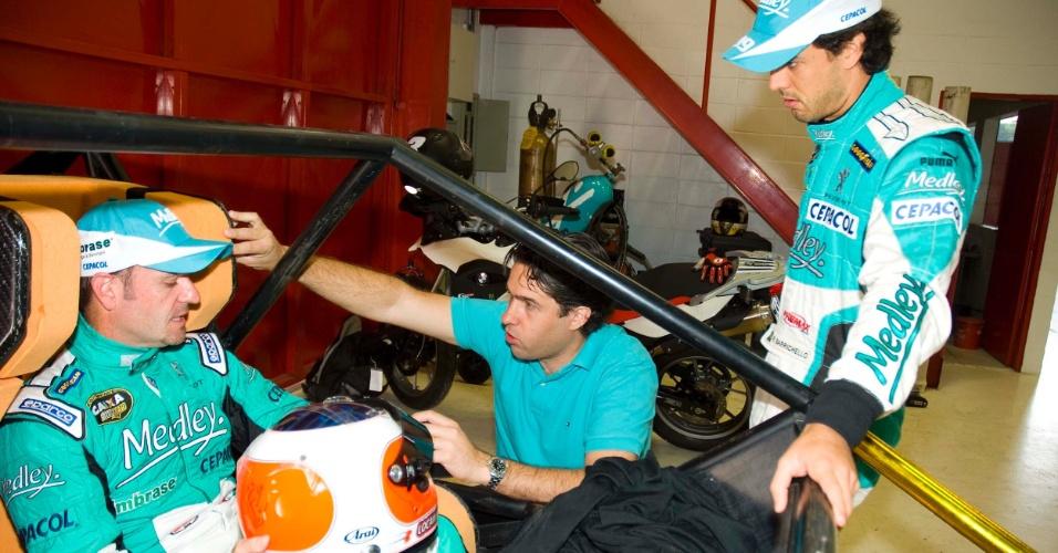 Rubens Barrichello ajuda no desenvolvimento dos novos bancos para carros da Stock Car