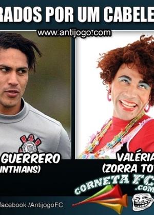 Corneta FC: Paolo Guerrero está no elenco de Zorra Total. Não sabia?