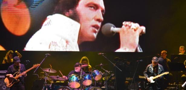 """Show no Maracanãzinho, Rio de Janeiro, que fecha a turnê """"Elvis in Concert"""" no Brasil (11/10/12)"""