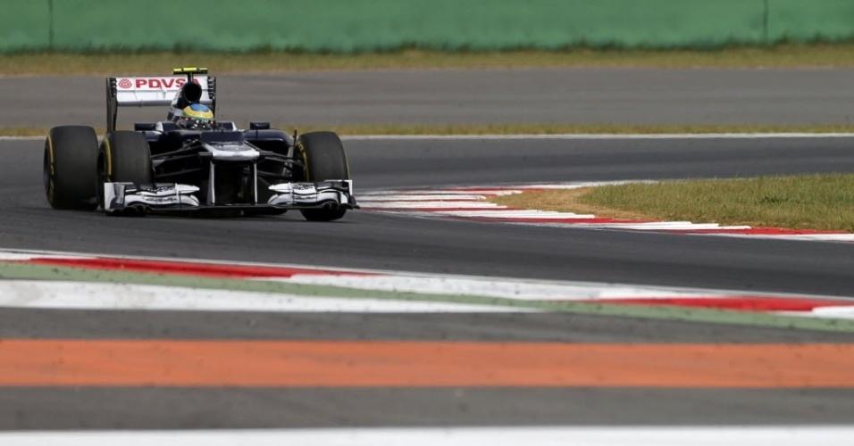 Brasileiro Bruno Senna vai largar em 18º lugar no GP da Coreia do Sul