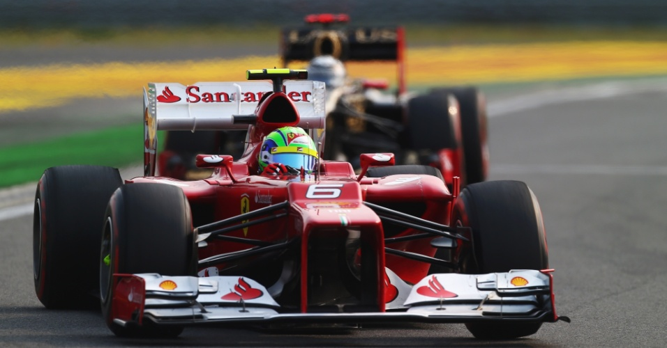 Felipe Massa segue à frente de Kimi Raikkonen no GP da Coreia; brasileiro chegou em quarto