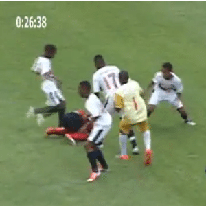 Under 13s match between Bahia & Vitoria descends into mass brawl, riot police called in