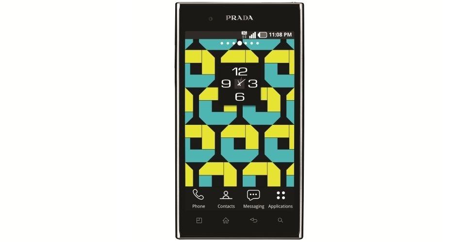 Com sistema operacional Android 2,3, o smartphone Prada, da LG, possui câmera traseira de 8 megapixels, tela de 4,3 polegadas, memória interna de 8 GB e preço sugerido de R$ 2.100. O dispositivo possui bom design e alto desempenho, mas carregamento da bateria é lento