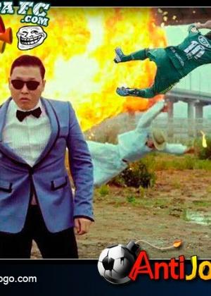Corneta FC: Até o Palmeiras entrou no Gangnam Style