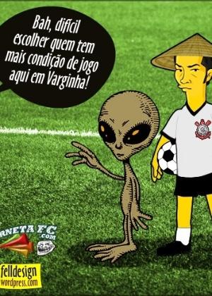 Corneta FC: Zizao e ET rivalizam por possível aparição em Varginha