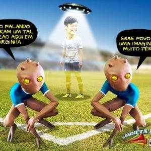 Corneta FC: Zizao em Varginha deixa ETs com inveja e sobram piadas até para palmeirenses