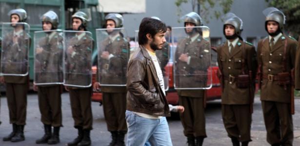 "Gael García Bernal em cena de ""No"", de Pablo Larraín, um dos destaques da Mostra"