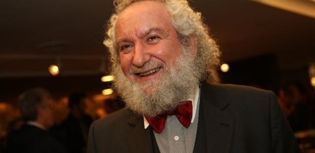 José Luiz Goldfarb. curador do Jabuti, durante Festival de Cinema Judaico de São Paulo (6/8/12)