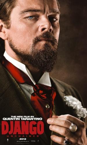 """Leonardo DiCaprio estampa o cartaz internacional de """"Django Livre"""", de Quentin Tarantino"""
