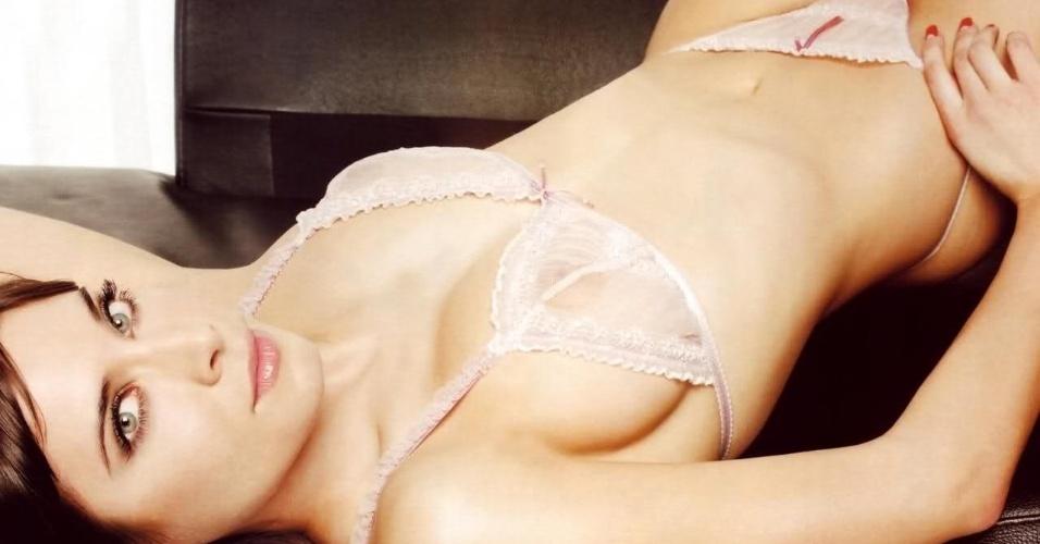 Pilar Rubio é figurinha carimbada em ensaios sensuais nas revistas espanholas e namorou com Sergio Ramos, jogador do Real Madrid