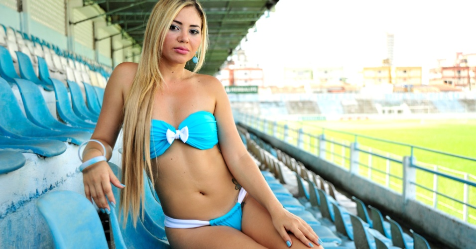 Raquel Oliveira, a bela do Paysandu