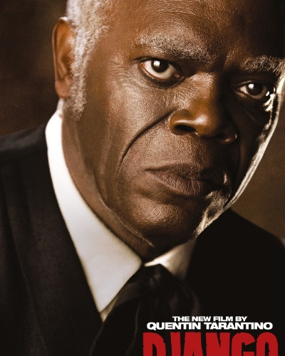 "Samuel L. Jackson estampa o cartaz internacional de ""Django Livre"", de Quentin Tarantino"