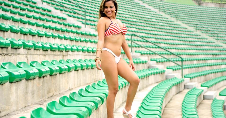 Talita Rocha, a bela do Bahia